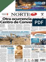Periódico Norte edición impresa día 8 de febrero 2014