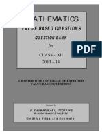 2037977530maths Value Based Question Bank for Class Xii 2013-14