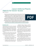 Valuation of Taxpayer IP Assets (2012 Willamette)