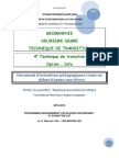 Documents intentions pédagogiques 4TT Géographie 2013