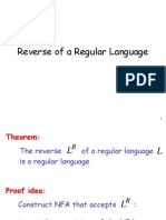 Reverse of Regular Grammer