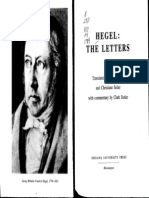 Hegel, Georg Wilhelm Butler, C and Seiler, C (Eds.) Hegel_ the Letters 1984