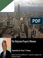 1 - The Malaysian Property Dilemma 11-10-2012