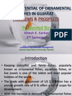 Market Potential of Ornamental Fishes in Gujarat(Problems & Prospects)