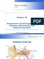 Patients With Hearing and Balance Disorders