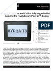 Inhand Hydra-t3 Rugged Tablet