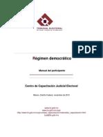Régimen democrático