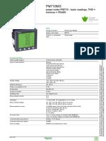 PM710 datasheet