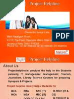 Project Helpline Presentation