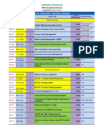 DNV Academy Vietnam-Training Plan 2013