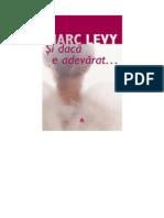 LEVY, Marc - Si Daca e Adevarat