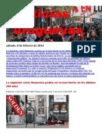 Noticias Uruguayas Viernes 7 de Febrero Del 2014