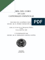 Teoria del Coro en Catedrales Españolas
