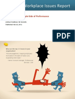 The 2012 Workplace issue report - Insights on the People-Side of Performance