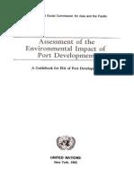 assessment of environmental impact  of port development