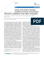 Information theoretic and machine learning