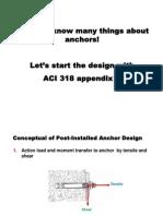 Part2_CEAT_Post Installed Anchor - Design Part