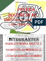 La Prueba Documental Probatorio