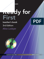 Ready for First Teacher's Book Samples