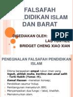 FALSAFAH PENDIDIKAN ISLAM & BARAT.ppt