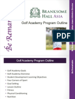 branksome golf academy