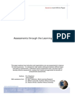 Assessments Through the Learning Process[1]