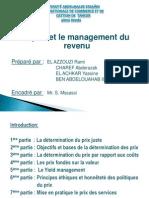 Le Prix Et Le Management Du Revenu