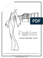 Fashion Coloring Pages Volume 2