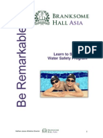 branksome learn to swim and talent id