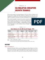 Singapore Johor Riau Growth Triangle