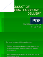 Conduct of Normal Labor and Delivery