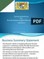 the bavarian investor presentation 1