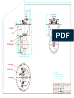 Outline Drawing of Azimuth Thruster-mv-0080-10-Pusher Vessel
