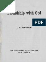L.H.Houghton FRIENDSHIP WITH GOD New Church Press Ltd London