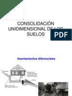 09 Consolidacion Unidimensional de Los Suelos