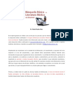 Busqueda Literatura Medica Internet