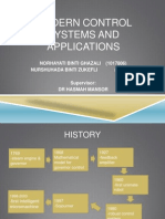 Modern Control Systems and Applications