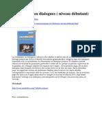 Grammaire en dialogues ( niveau débutant)