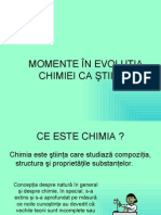 Momente in Evolutia Chimiei