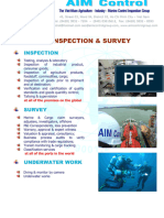 Damage & Loss Inspection-survey for Cargo on Board & Warehouse Certificate
