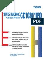 Service Handbook GD1080-1090 (Engleza, 53 Pag)