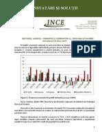 Sectorul agricol - principalul generator al creșterii economiei naționale în anul 2013