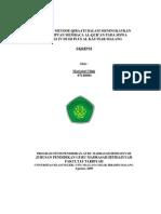 Aplikasi Metode Qiraati Dalam Meningkatkan Kemampuan Membaca Al-qur'An