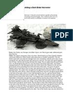 Tutorial - How to Build the Dark Eldar Harvester Part 2