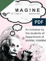 E-magazine of the Department of MHRM, IISWBM_September 2009