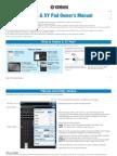 Faders & XY Pad Owner´s Manual