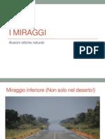 I Miraggi
