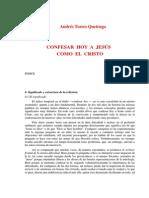 torres queiruga, andres - confesar cristo hoy.rtf
