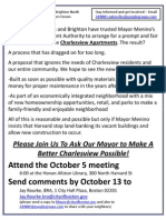 Charles View Meeting Flyer - Oct 5