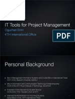 IT Tools for Project Management